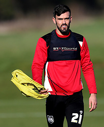 Marlon Pack of Bristol City takes part in training - Mandatory by-line: Robbie Stephenson/JMP - 19/01/2017 - FOOTBALL - Bristol City Training Ground - Bristol, England - Bristol City Training