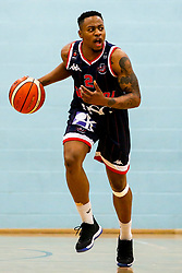 Panos Mayindombe of Bristol Flyers - Photo mandatory by-line: Robbie Stephenson/JMP - 10/04/2019 - BASKETBALL - UEL Sports Dock - London, England - London Lions v Bristol Flyers - British Basketball League Championship