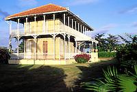 France - Département d'Outre mer de la Guadeloupe (DOM) - Grande Terre - Zevalos - Ancienne habitation