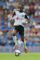 Fotball<br /> England<br /> Foto: Fotosports/Digitalsport<br /> NORWAY ONLY<br /> <br /> John Pantsil (Fulham)  <br /> <br /> 15.08.09 Portsmouth v Fulham Barclays Premier League Fratton Park