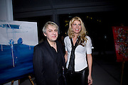 MEREDITH OSTROM; NICK RHODES, ArtSensus presents ' Naked Soul' by Meredith Ostrom in support of Youth for Youth. Howick Place. London. 12 March 2009