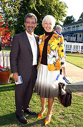 EDDIE & MARIE JORDAN  at the Royal Windsor Charity Race Evening in aid of the Great Ormond Street Hospital Children's Charity held at Windsor Racecourse, Berkshire on 5th July 2004.