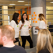 03.04.2017        <br /> Librarians at the Gluskman Library University of Limerick partnered with students of journalism at the University of Limerick to present a Limerick Lifelong Learning Festival talk on Fake News and How to Spot It at the Bank of Ireland Workbench. <br /> <br /> Pictured at the event were talk presenters, Michael Hogan, UL, Niamh McMahon, UL and Jennifer Purcell, UL. Picture: Alan Place.