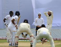 Sri Lanka v England: First Test - Day two - 07 Nov 2018