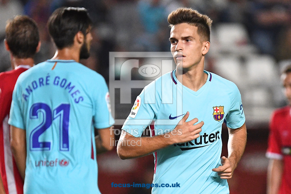 Denis Su&aacute;rez of FC Barcelona during the Copa del Rey match at Estadio Nueva Condomina, Murcia<br /> Picture by Kristian Kane/Focus Images Ltd +44 7814 482222<br /> 24/10/2017