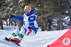 Europa Cup Finals Banked Slalom, CAVICCHI Roberto, ITA at the 2016 IPC Snowboard Europa Cup Finals and World Cup