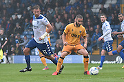 Bury Forward, Tom Pope (11) and Port Vale Forward, Martin Paterson (13) during the EFL Sky Bet League 1 match between Bury and Port Vale at the JD Stadium, Bury, England on 3 September 2016. Photo by Mark Pollitt.