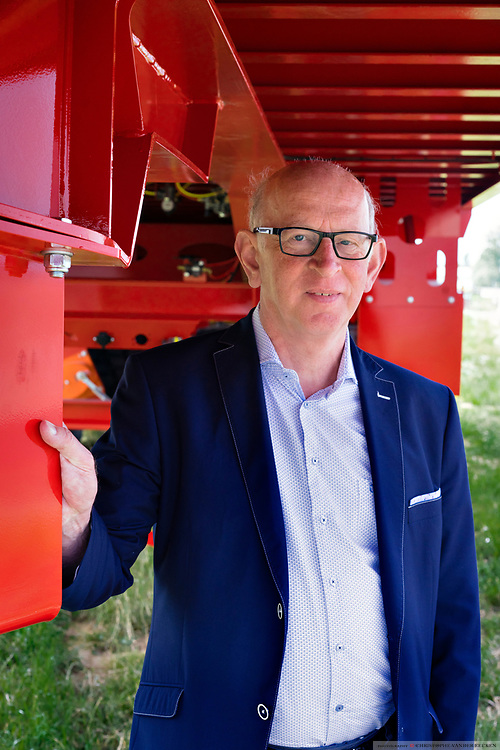 Staden, Belgium, 7 jun 2017, CEO Martin Mol of Mol Cy industrial vehicel manufacturing