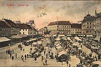 Zagreb : Jelačićev trg. <br /> <br /> ImpresumDresden : Stengel & Co., G. m. b. H., 1901.<br /> Materijalni opis1 razglednica : tisak ; 9 x 14 cm.<br /> NakladnikStengel & Co.<br /> Mjesto izdavanjaDresden (Njemačka)<br /> Vrstavizualna građa • razglednice<br /> ZbirkaZbirka razglednica • Grafička zbirka NSK<br /> Formatimage/jpeg<br /> PredmetZagreb –– Trg bana Josipa Jelačića<br /> SignaturaRZG-JEL-11<br /> Obuhvat(vremenski)20. stoljeće<br /> PravaJavno dobro<br /> Identifikatori000952407<br /> NBN.HRNBN: urn:nbn:hr:238:139288 <br /> <br /> Izvor: Digitalne zbirke Nacionalne i sveučilišne knjižnice u Zagrebu