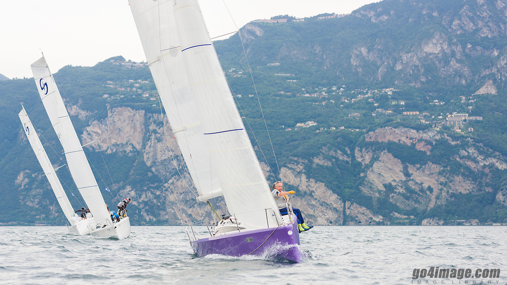Sepetember 2014 Saphire Class Training on lake Garda Malcesine Italy