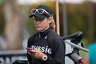 Sarah Crowley (AUS), June 1, 2014 - TRIATHLON : Coral Coast 5150 Triathlon, Cairns Airport Adventure Festival, Four Mile Beach, Port Douglas, Queensland, Australia. Credit: Lucas Wroe