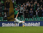 Celtic's John Guidetti celebrates after scoring - Celtic v Dundee, SPFL Premiership at Celtic Park<br /> <br />  - © David Young - www.davidyoungphoto.co.uk - email: davidyoungphoto@gmail.com