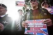 Army Veterans Protest
