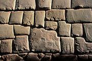 PERU, CUZCO, INCA Calle Hatunrumiyoc; twelve sided stone