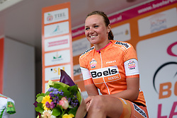 Race winner, Chantal Blaak (Boels Dolmans) after the 119 km Stage 6 of the Boels Ladies Tour 2016 on 4th September 2016 from Bunde to Valkenburg, Netherlands. (Photo by Sean Robinson/Velofocus).