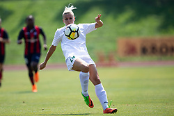 Mia Kalasic of ZNK Olimpija Ljubljana during football match between FC Minsk and ZNK Olimpija Ljubljana in 2nd Qualifying Group of UEFA Women's Champions League 2018/19, on August 7, 2018 in Stadion ZAK, Ljubljana, Slovenia. Photo by Urban Urbanc / Sportida
