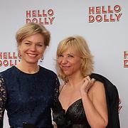 NLD/Rotterdam/20200308 - Premiere Hello Dolly, Claudia de Breij en partner Jessica