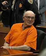 **MAGS OUT*  Reputed Ku Klux Klan member Edgar Ray Killen responded loudly with 'not guilty' three times Friday, Jan. 7, 2005,  as he was arraigned on murder charges in the slayings of three civil rights workers more than 40 years ago, at the Neshoba County Courthouse in Philadelphia, Miss.(photo/Suzi Altman)