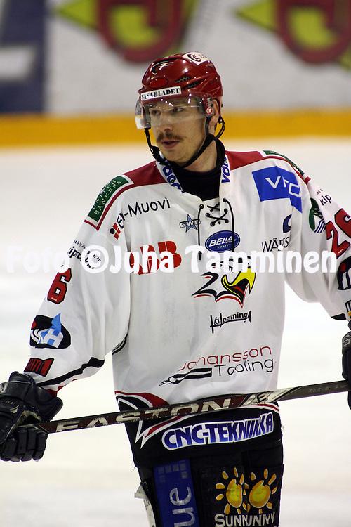 02.04.2009, Isom?en halli, Pori..J??kiekon SM-liigakarsinta 2009..EURss?t - Sport.Paul Cabana - Sport.©Juha Tamminen.