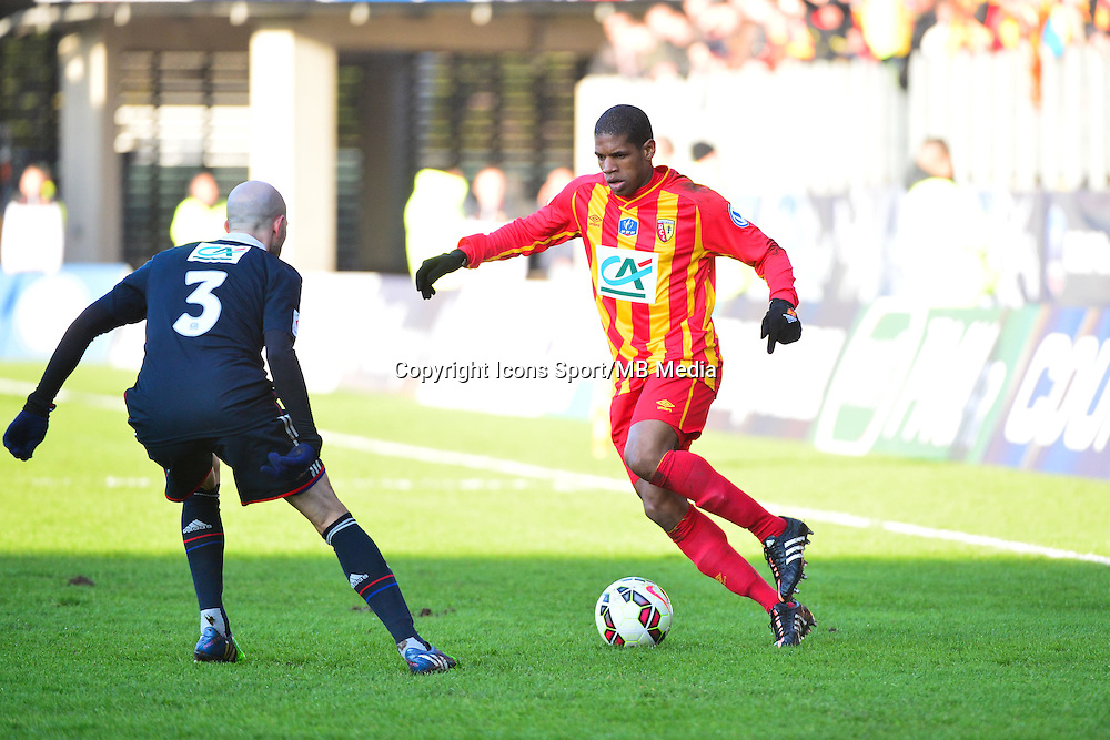 Ludovic BAAL - 04.01.2014 - Lens / Lyon - Coupe de France<br />