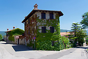 Italy, Collio. San Floriano del Collio. The Golf Hotel.