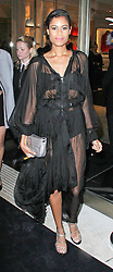 © Licensed to London News Pictures. 01/05/2014, UK. Aluna Francis, Fendi - Store Launch Party, New Bond Street, London UK, 01 May 2014. Photo credit : Brett D. Cove/Piqtured/LNP