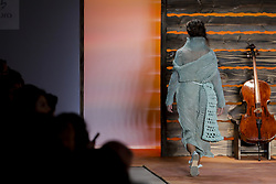 April 24, 2018 - Sao Paulo, Sao Paulo, Brazil - Apr, 2018 - Fernanda Yamamoto fashion show during the N45 edition of São Paulo Fashion Week, on Tuesday (24), in the pavilion of crops in the park of Ibirapuera. (Credit Image: © Marcelo Chello via ZUMA Wire)