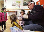 Dentist Thomas Littner examines children at Middletown Head Start