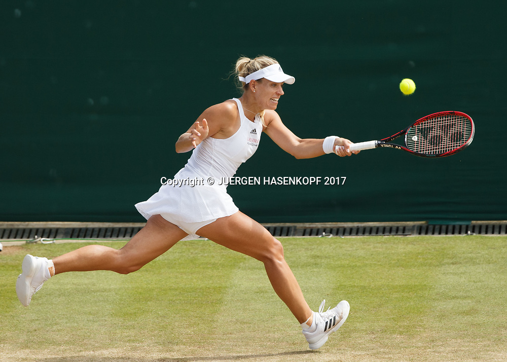 ANGELIQUE KERBER (GER)<br /> <br /> Tennis - Wimbledon 2017 - Grand Slam ITF / ATP / WTA -  AELTC - London -  - Great Britain  - 8 July 2017.
