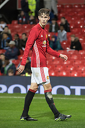 © Licensed to London News Pictures . 12/12/2016 . Manchester , UK . CALLUM GRIBBIN . Manchester United vs Southampton FA Youth Cup Third Round match at Old Trafford . Photo credit : Joel Goodman/LNP