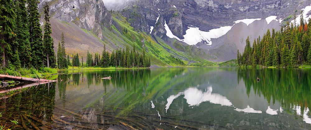 Panorama, Rawson Lake, Peter Lougheed Provinical Park, Alberta, Canada.