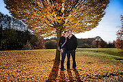 Eleanor & Perry's engagement shoot took places in the grounds of Warwick University were both studied and worked.