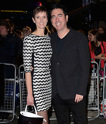 Guest and Laurence Malkin attend Kill Me Three Times Premiere as part of BFI LFF at Odeon West End on Saturday 18th October 2014