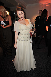 JAIME WINSTONE at Quintessentially's 10th birthday party held at The Savoy Hotel, London on 13th December 2010.