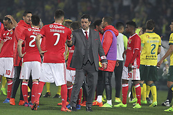 March 18, 2017 - Pacos De Ferreira, Pacos Ferreira, Portugal - Benfica's Portuguese head coach Rui Vitoria during the Premier League 2016/17 match between Pacos Ferreira and SL Benfica, at Mata Real Stadium in Pacos de Ferreira on March 18, 2017. (Credit Image: © Dpi/NurPhoto via ZUMA Press)