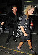 20.AUGUST.2009 - LONDON<br /> <br /> DAVE GARDNER WHO LOOKS LIKE HE HAS GOT OVER HIS SPLIT FROM EX-WIFE DAVINA TAYLOR LEAVING BEACH BLANKET BABYLON CLUB IN NOTTING HILL AFTER CELEBRATING KIMBERLEY STEWART'S 30TH BIRTHDAY DAVE LOOKED VERY COSY WITH A MYSTERY BLONDE LADY AS HE LEFT THE CLUB AND THEN KIMBERLEY, DAVE AND THE GIRL WENT ONTO ELECTRIC BALLROOM WHERE THEY STAYED FOR 20 MINUTES AND DAVE AND THE GIRL TRIED TO GET OUT THE SIDE EXIT OF THE CLUB AND SNEAK INTO A CAR BEFORE TRYING TO HIDE HIS FACE.<br /> <br /> BYLINE: EDBIMAGEARCHIVE.COM<br /> <br /> *THIS IMAGE IS STRICTLY FOR UK NEWSPAPERS &amp; MAGAZINES ONLY*<br /> *FOR WORLDWIDE SALES &amp; WEB USE PLEASE CONTACT EDBIMAGEARCHIVE - 0208 954 5968*