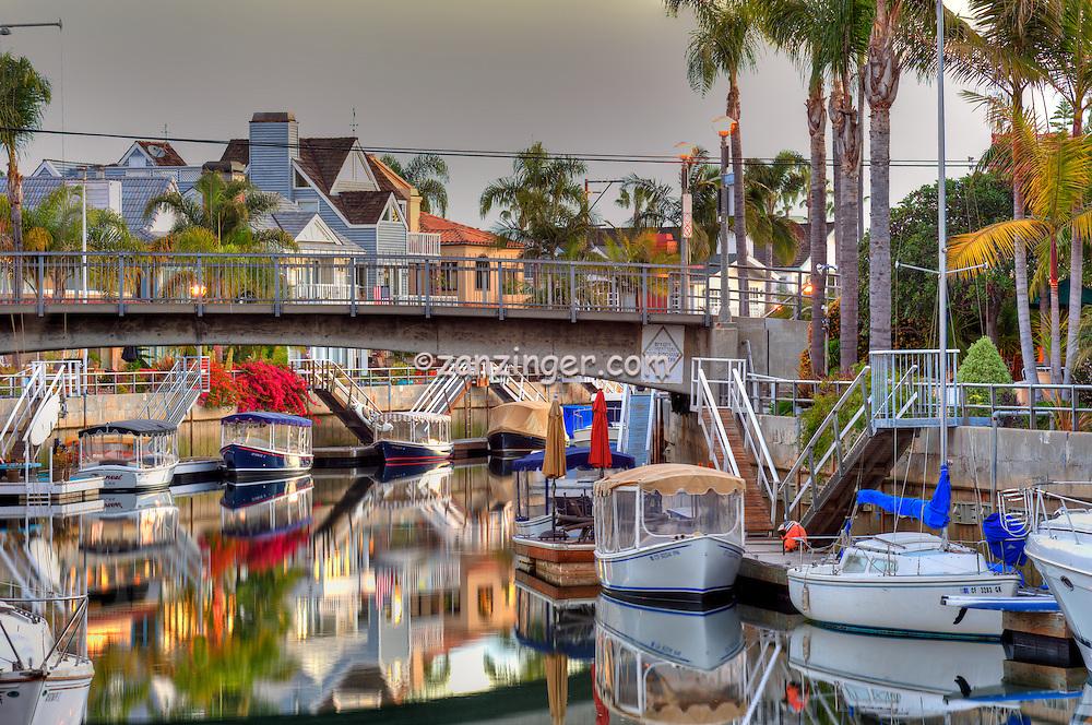Naples Canal, Long Beach, CA, Alamitos Bay, Belmont Shore,