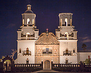 San Xavier Mission. White dove of the desert.