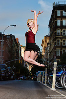 Dance As Art Photography Project- West Village New York City featuring dancer,
