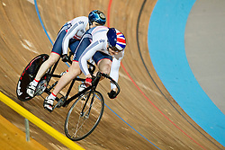 , GBR, Sprint FInals, 2015 UCI Para-Cycling Track World Championships, Apeldoorn, Netherlands