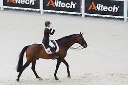 Julie de Deken, (BEL), Lucky Dance - Grand Prix Team Competition Dressage - Alltech FEI World Equestrian Games™ 2014 - Normandy, France.<br /> © Hippo Foto Team - Leanjo de Koster<br /> 25/06/14