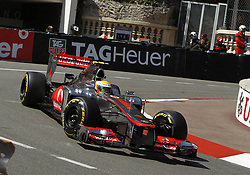 Formula One World Championship 2012 Grand Prix Monaco. Lewis Hamilton during practice. Thursday May 24, 2012. Photo By imago/i-Images