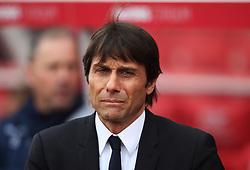 Chelsea manager Antonio Conte - Mandatory by-line: Jack Phillips/JMP - 18/03/2017 - FOOTBALL - Bet365 Stadium - Stoke-on-Trent, England - Stoke City v Chelsea - Premier League