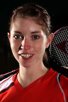Heather Olve England Badminton, World Championship Photoshoot, NBC, Milton Keynes, England, 2011