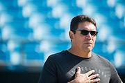 September 17, 2017: BUFvsCAR. Head Coach, Ron Rivera