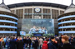 A general view of the Etihad Stadium - Mandatory by-line: Matt McNulty/JMP - 10/04/2018 - FOOTBALL - Etihad Stadium - Manchester, England - Manchester City v Liverpool - UEFA Champions League Quarter Final Second Leg