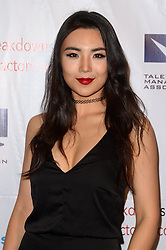 Candice Zhao, at the 2016 TMA Heller Awards, Beverly Hilton Hotel, Beverly Hills, CA 11-10-16. EXPA Pictures &copy; 2016, PhotoCredit: EXPA/ Avalon/ Martin Sloan<br /> <br /> *****ATTENTION - for AUT, SLO, CRO, SRB, BIH, MAZ, SUI only*****