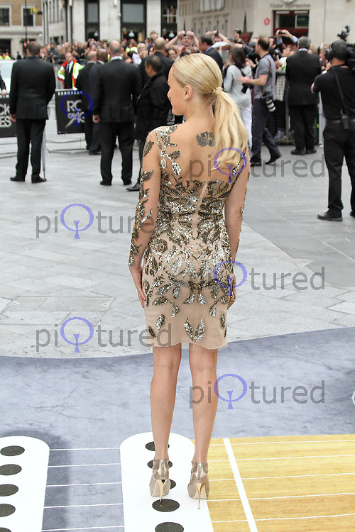 LONDON - JUNE 10:  Malin Åkerman attends the European Film Premiere of 'Rock Of Ages' at the Odeon Cinema, Leicester Square, London, UK. June 10, 2012. (Photo by Richard Goldschmidt)