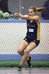 London, Ontario ---11-01-22---   Shealyn McLaughlin of the Windsor Lancers competes at the 2011 Don Wright meet at the University of Western Ontario, January 22, 2011..GEOFF ROBINS/Mundo Sport Images.