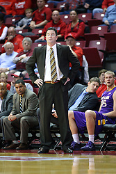 19 November 2011:  Scott Sanderson during an NCAA mens basketball game between the Lipscomb Bison and the Illinois State Redbirds in Redbird Arena, Normal IL